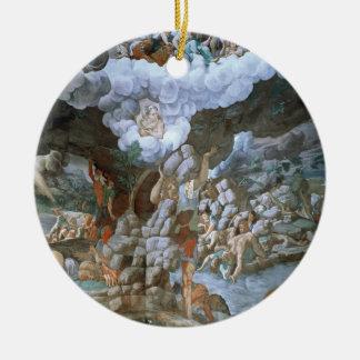 Dei Giganti (fresco) de Sala (véase también Adorno Navideño Redondo De Cerámica