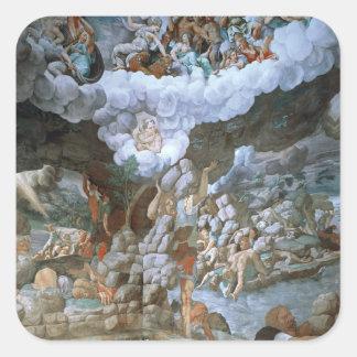 Dei Giganti (fresco) de Sala (véase también Pegatina Cuadrada
