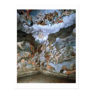 Dei Giganti (fresco) de Sala (véase también Postal