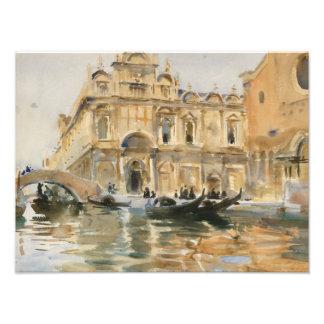 Dei Mendicanti, Venecia de John Singer Sargent - Fotografías