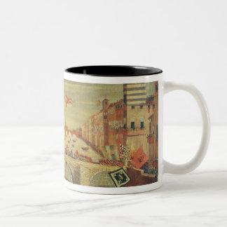 Dei Pisani de IL Gioco del Ponte Tazas De Café