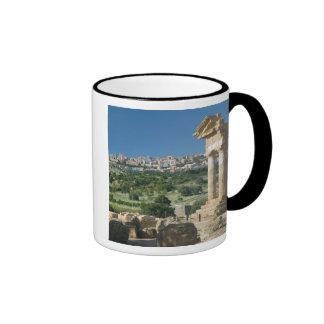 Dei Templi de Italia, Sicilia, Agrigento, Valle Taza De Dos Colores