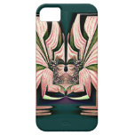 Deidad de la flor iPhone 5 Case-Mate protector