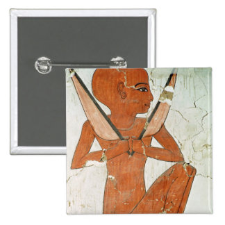 Deidad de los Ordenadores nacionales, de la tumba  Pin Cuadrada 5 Cm