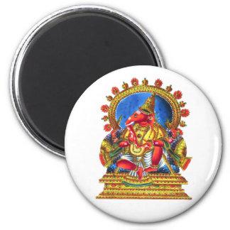 Deidad hindú de Ganesha Imán Para Frigorífico