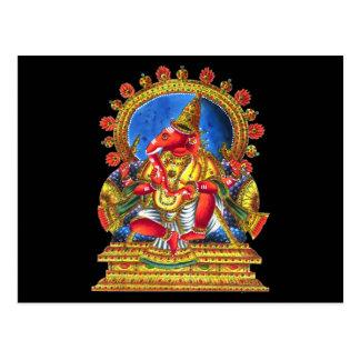 Deidad hindú de Ganesha Postal