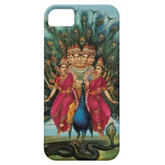 Deidad hindú de Murugan Kartikeyan Skanda iPhone 5 Carcasa