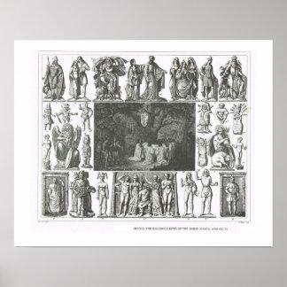 Deidades de los nórdises, del Gauls y de los Celts Poster