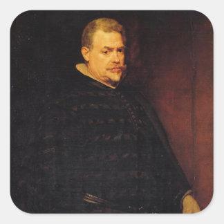 Deigo Velazquez Painting Sticker