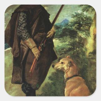 Deigo Velazquez Painting Stickers