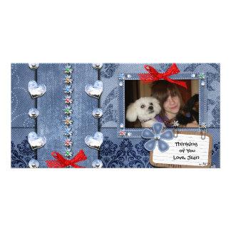 Deim Jeans Girly Greeting Card