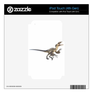 Deinonychus in side profile iPod touch 4G decal