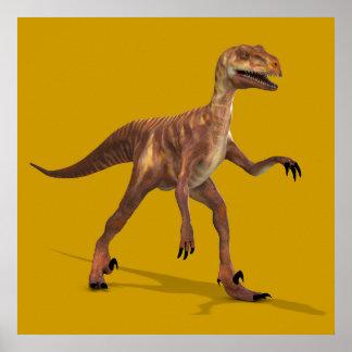 Deinonychus Poster