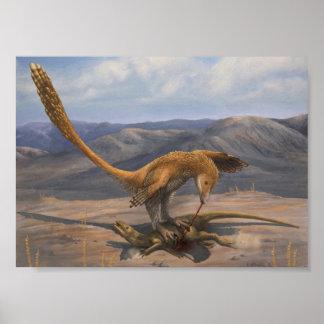 Deinonychus Prey Restraint Print