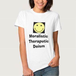 Deísmo de MoralisticTheraputic Playeras