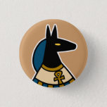 "Deity :: Anubis Button<br><div class=""desc"">God of Embalming,  Psychopomp,  Weigher of the Heart,  Lord of the Sacred Land,  Soother of Dry Lips.</div>"