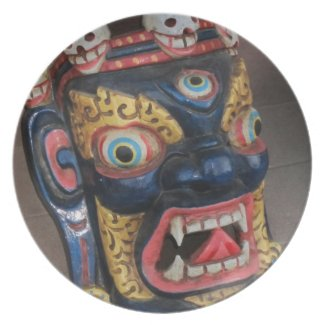 Deity Mask Plate