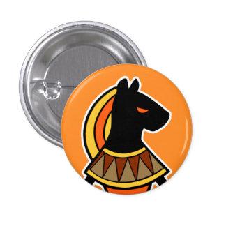 Deity :: Sekhmet 1 Inch Round Button