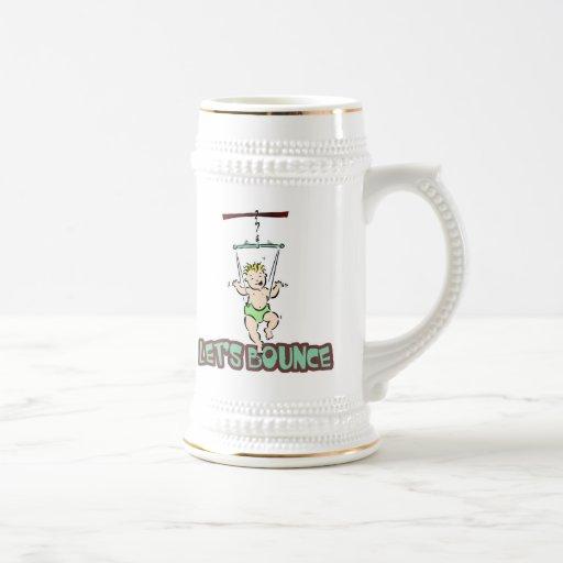 Deja a la gorila del puente de bebé de la despedid taza de café