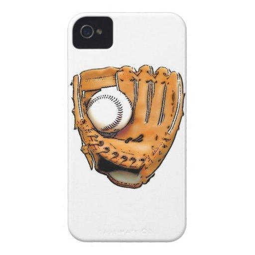 Deja béisbol del juego iPhone 4 Case-Mate coberturas