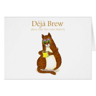 Deja Brew Card