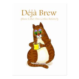 Deja Brew Post Card