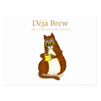 Deja Brew Postcard