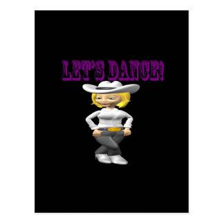 Deja danza tarjetas postales