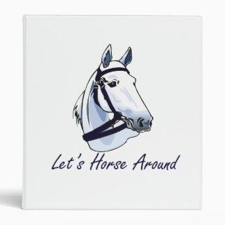 Deja el caballo alrededor del halter azul árabe