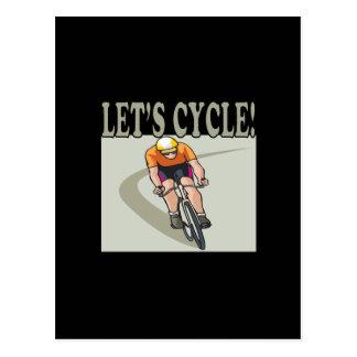 Deja el ciclo postal