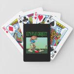 Deja el croquet 2 del juego baraja cartas de poker