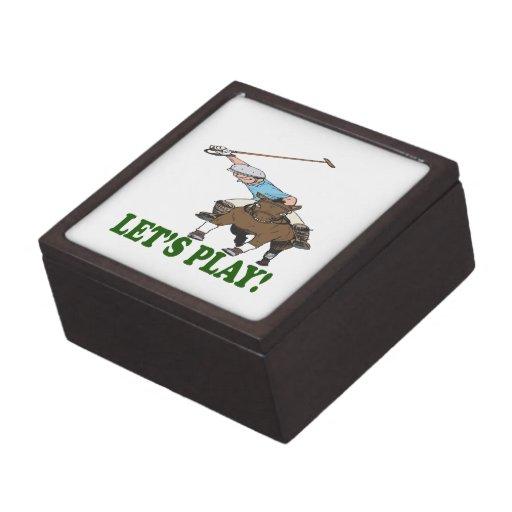 Deja el juego 2 caja de joyas de calidad