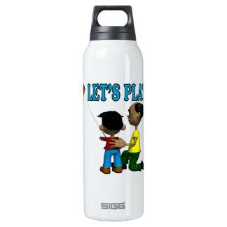 Deja el juego botella isotérmica de agua