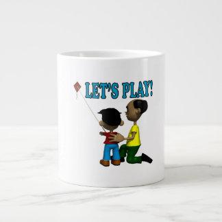 Deja el juego taza de café gigante