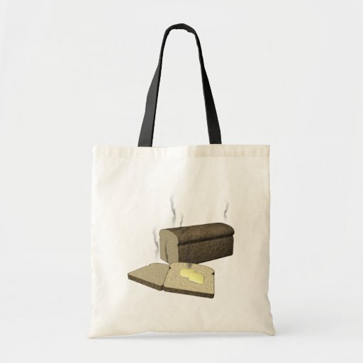 Deja el pan de la rotura bolsa tela barata