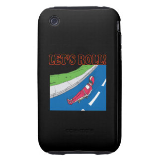 Deja el rollo tough iPhone 3 carcasa