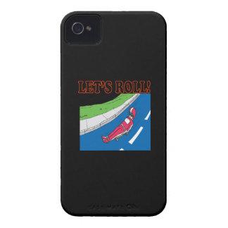 Deja el rollo iPhone 4 Case-Mate fundas