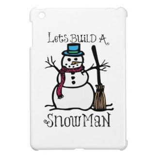 Deja estructura un hombre de la nieve