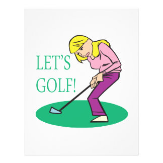"Deja golf folleto 8.5"" x 11"""