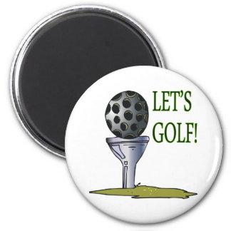 Deja golf imán redondo 5 cm
