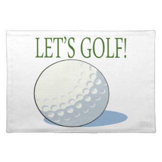 Deja golf manteles