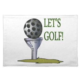 Deja golf manteles individuales