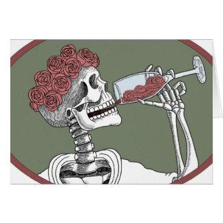 deja la bebida tarjetas