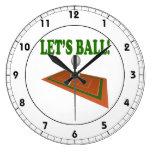 Deja la bola 2 relojes de pared