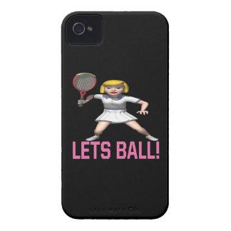 Deja la bola iPhone 4 cárcasa