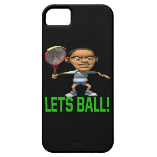 Deja la bola funda para iPhone 5 barely there