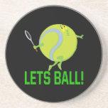 Deja la bola posavasos personalizados