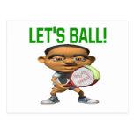 Deja la bola postal