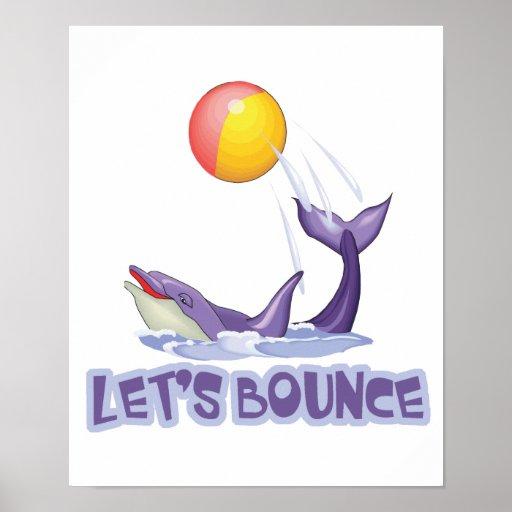 Deja la bola que despide del delfín de la despedid posters