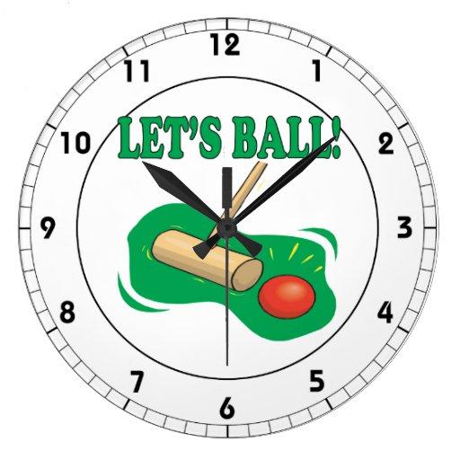 Deja la bola relojes de pared
